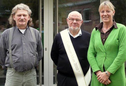 2e winnaar cltuurprijs Roland Man